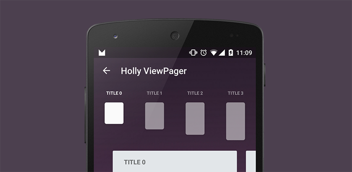 A different beautiful ViewPager, with quick swipe controls