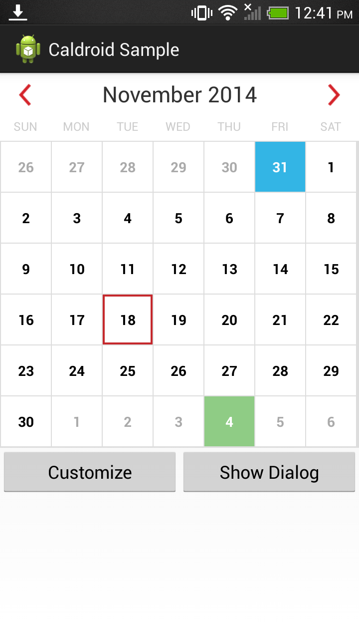 A better calendar for Android