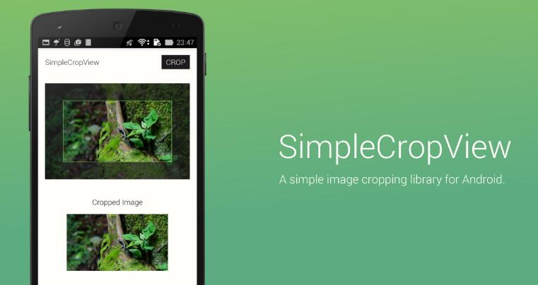 A simple image cropping library for Android