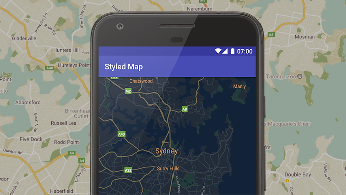 Library extending capabilities of Google Maps Android API v2