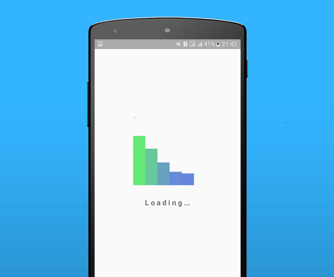 Android loading view library