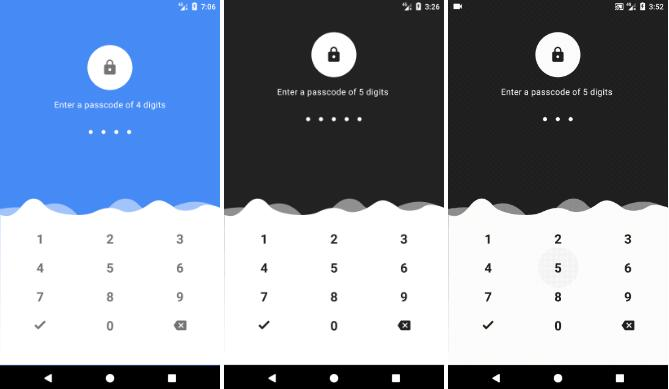 Material Design PasscodeView for Android