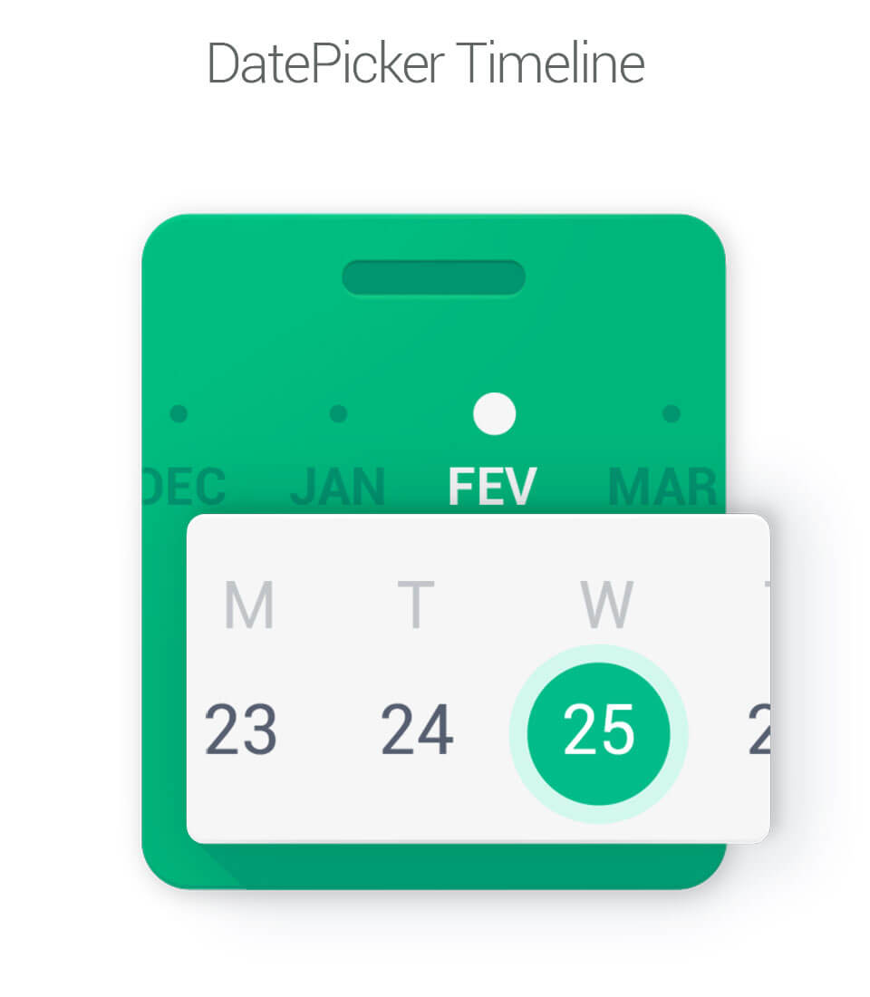 datepicker-timeline