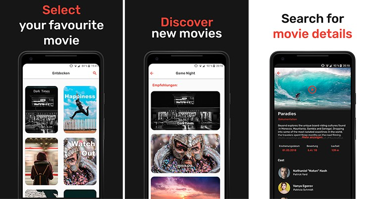 movie app for android 2018