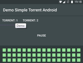A torrent client library for Android that utilizes frostwire-jlibtorrent