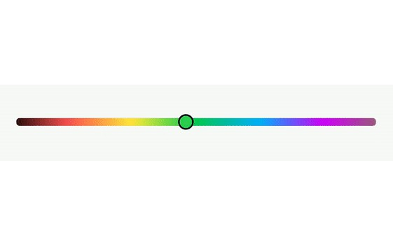 A color picker seekbar for android