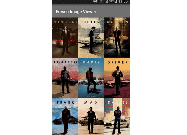Simple customizable full screen image viewer for Fresco library
