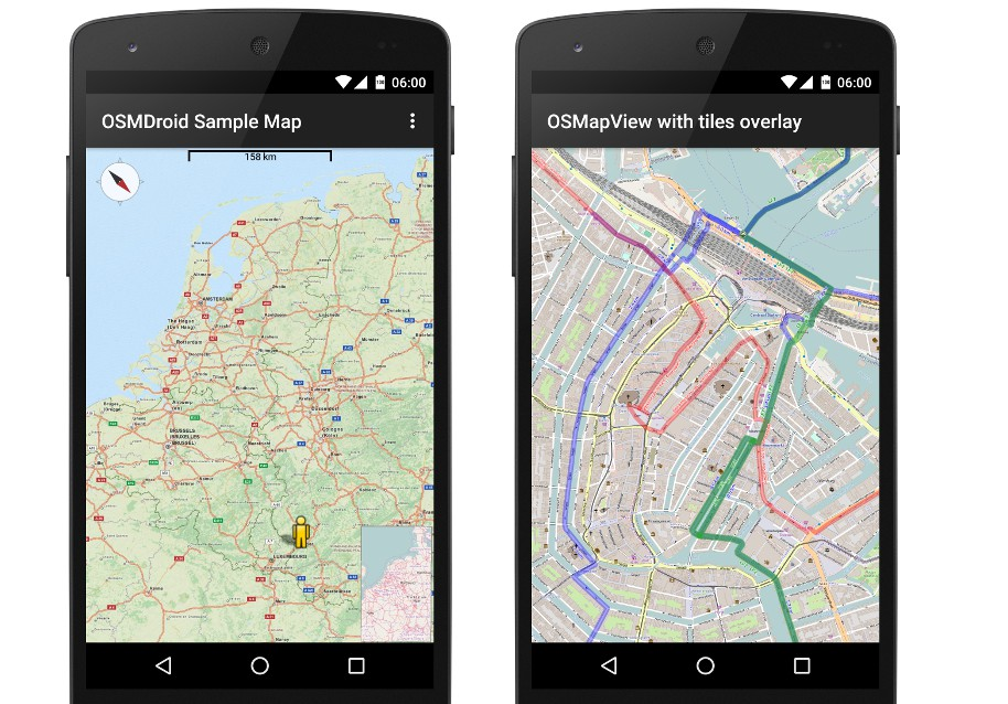 A full/free replacement for Android's MapView class