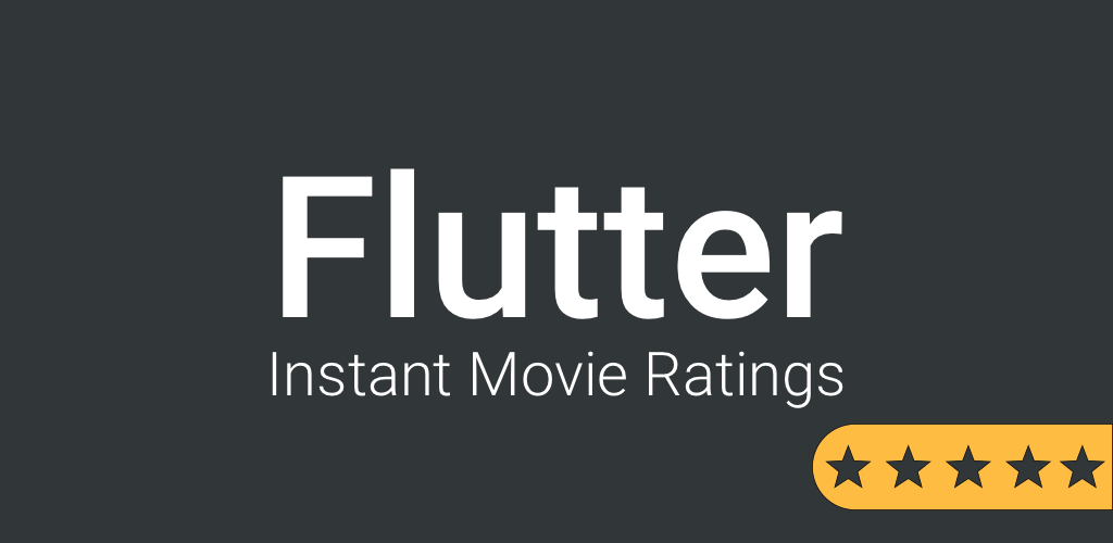 Flutter - Show movie ratings