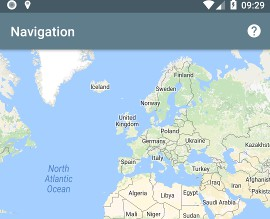 Wiktor-Navigator : shares your location with one other person