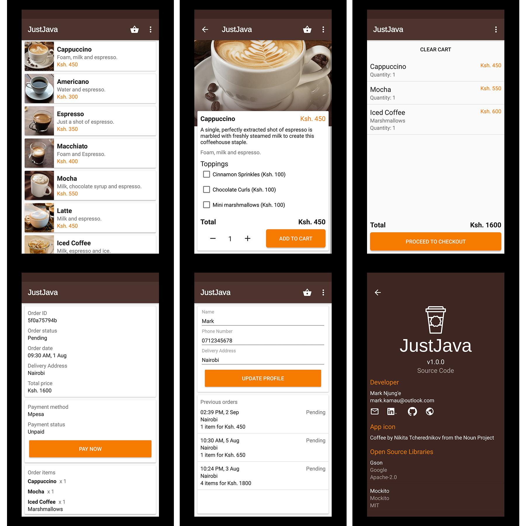 JustJava-Android