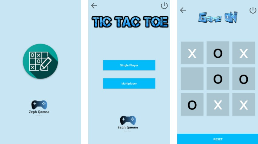 Build a tic tac toe game app with kotlin support
