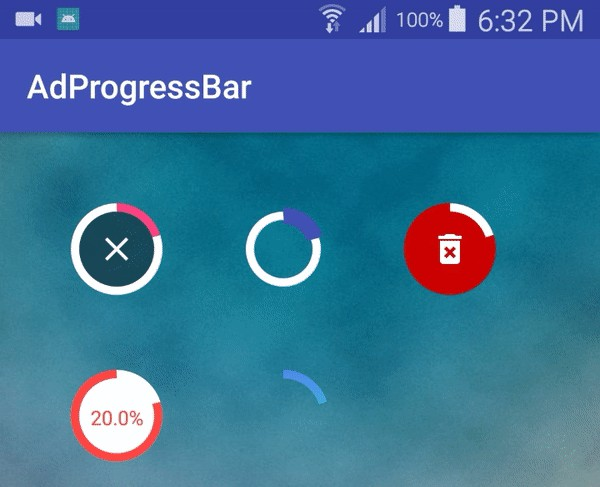 A small Android library allowing you to have a smooth and