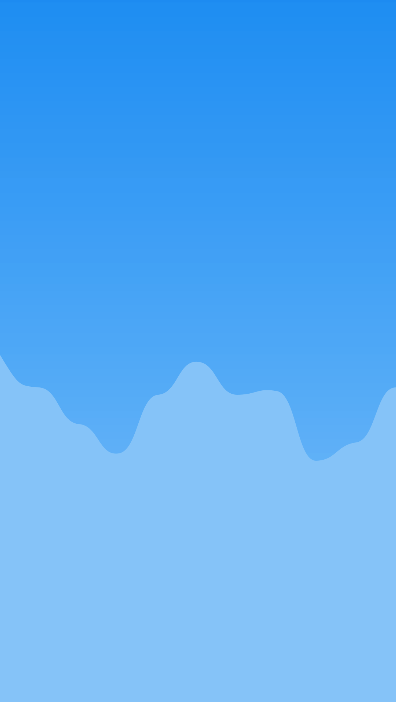 Background with chart and smooth bezier lines from float array