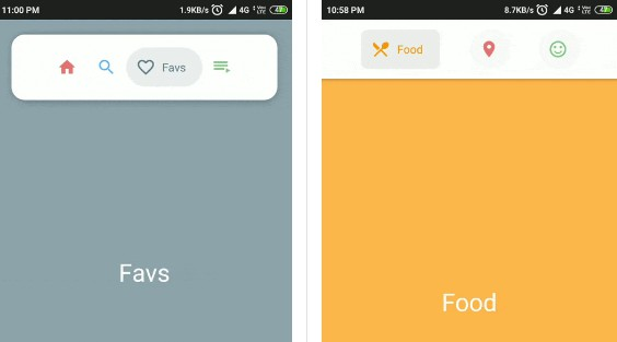 Make beautiful Navigation Bar easily with ton of customization option