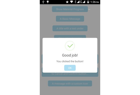 A beautiful and material alert dialog to use in your android app