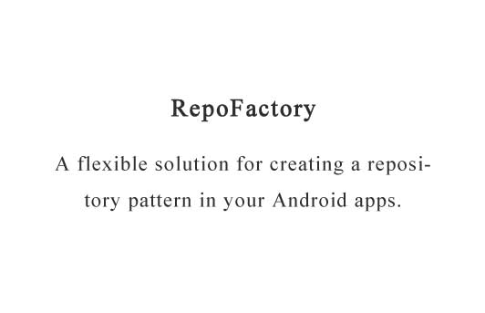 A flexible solution for creating a repository pattern in your