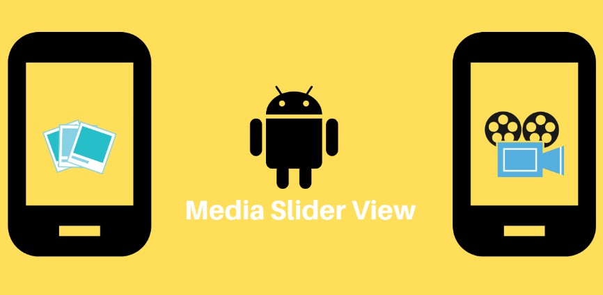 Sliding Gallery View supporting both images and videos for android