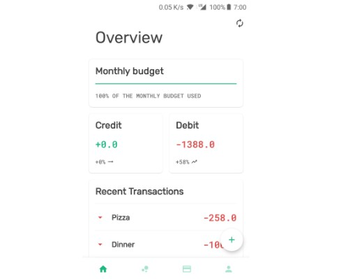 Easy to use lite expense tracker using google sheets