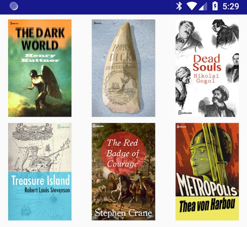 An EPUB & CBZ reading app for Android