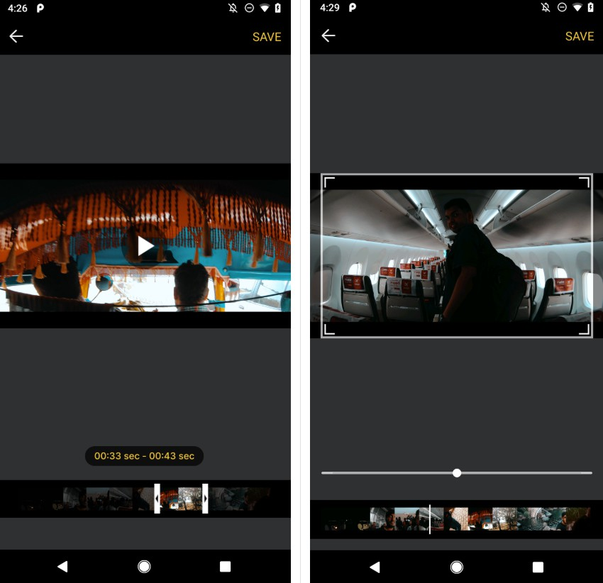 Video Editor Library with android
