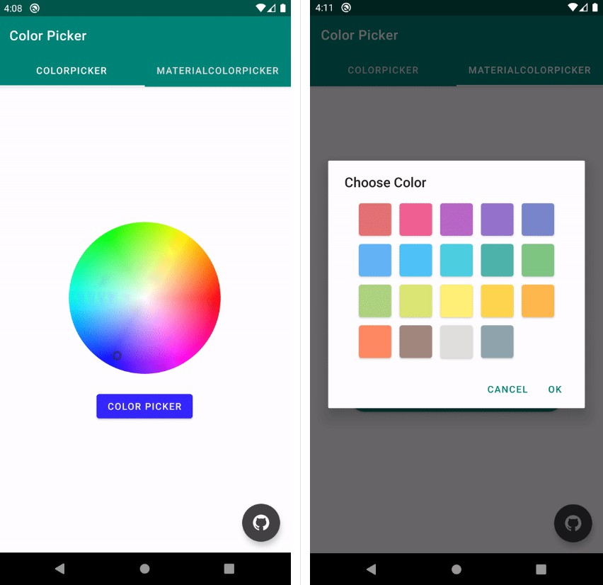 Color Picker Library for Android