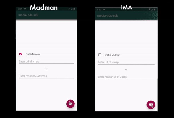 A high performance alternative to Google's standard IMA android SDK