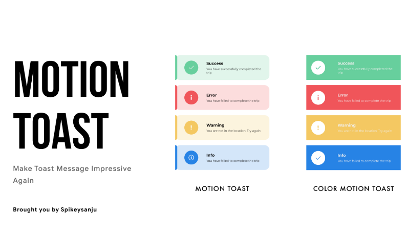 A Beautiful Motion Toast Library for Kotlin Android