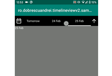 DateTime interval picker view for Android