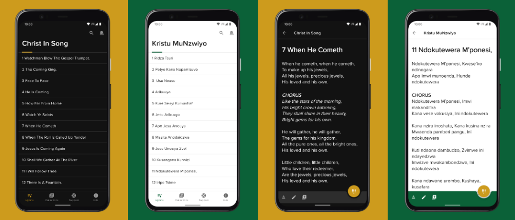 Christ In Song Android App Written in Kotlin
