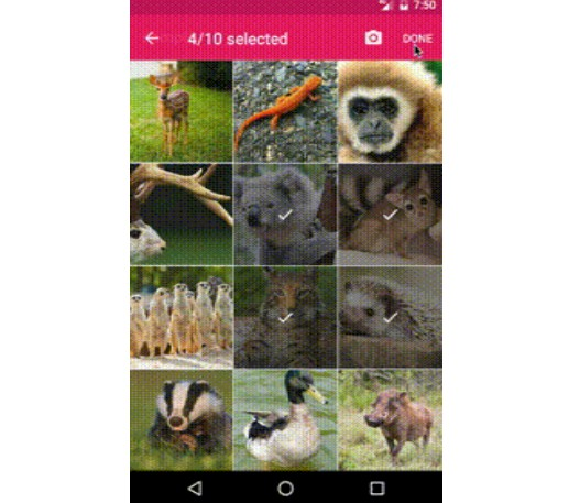 No config yet highly configurable image picker for Android