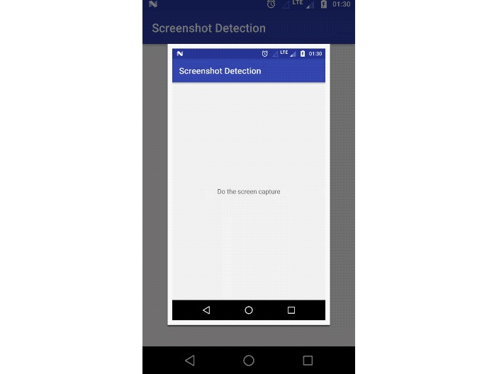 Screenshot Detection Library for android